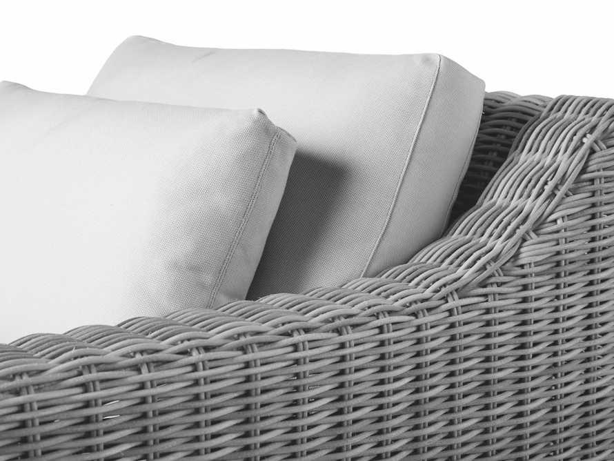 """Montauk Outdoor 38.5"""" Swivel Chair in Vista Grey, slide 7 of 7"""