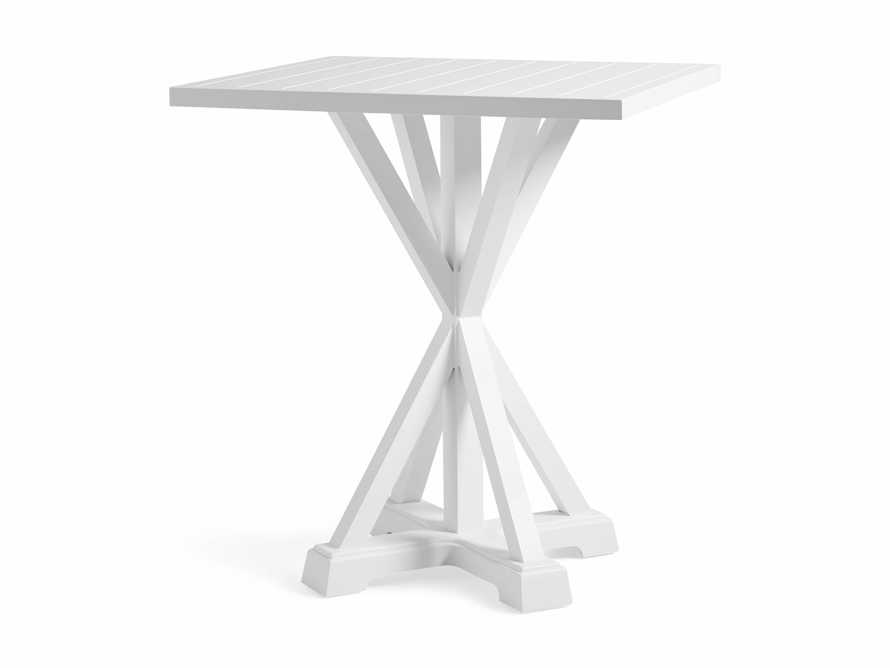 """Montego Outdoor 42"""" Bar Table in Blanc, slide 3 of 5"""