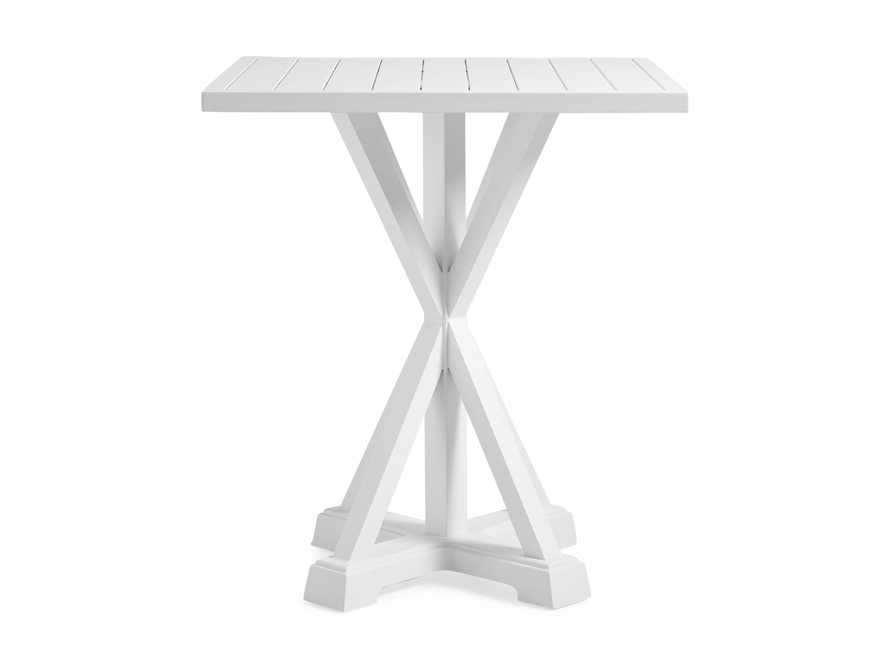 """Montego Outdoor 42"""" Bar Table in Blanc, slide 2 of 5"""