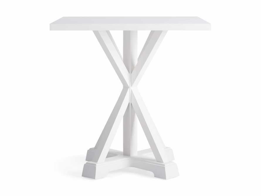 "Montego Outdoor 36"" Counter Table in Blanc, slide 3 of 5"