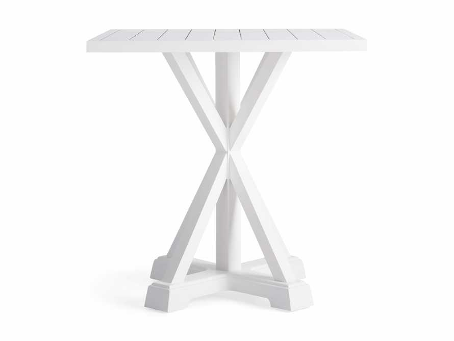 "Montego Outdoor 36"" Counter Table in Blanc, slide 2 of 5"