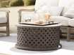"""Naples Outdoor 36"""" Coffee Table in Fossil"""