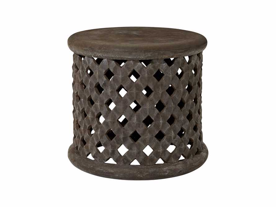"Naples Outdoor 22"" End Table in Fossil"