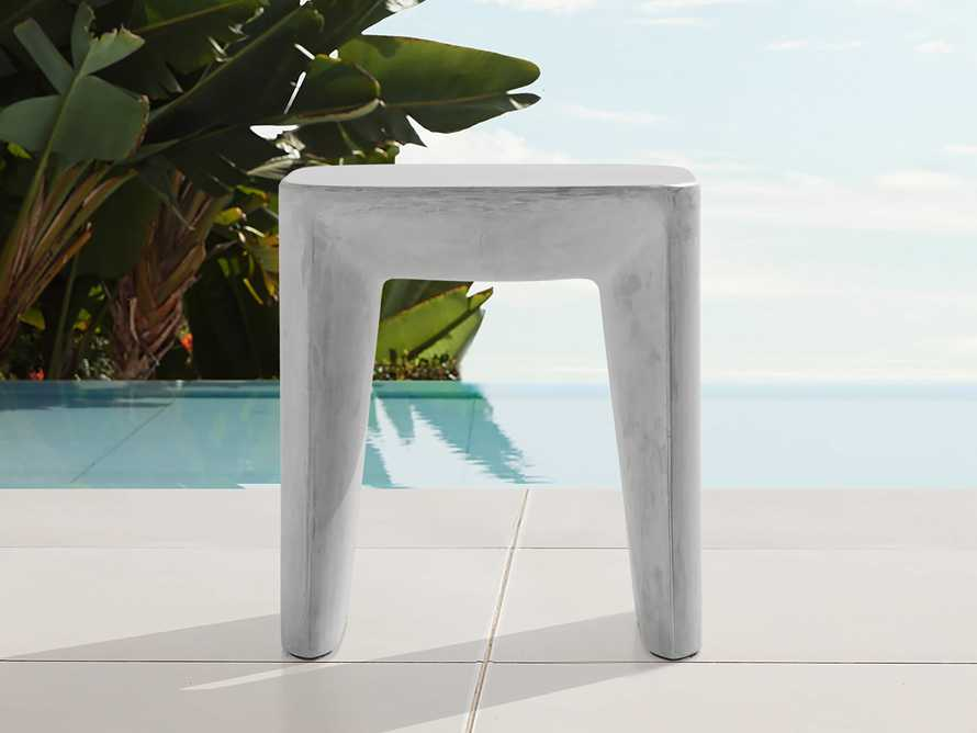 """Nueva Outdoor 18"""" Stone End Table, slide 1 of 7"""