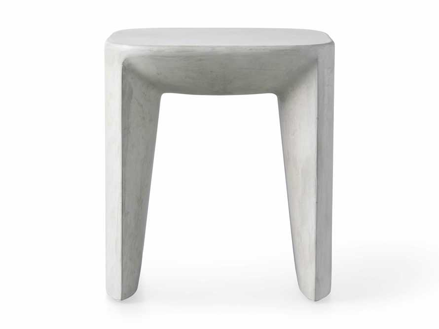 """Nueva Outdoor 18"""" Stone End Table, slide 3 of 7"""