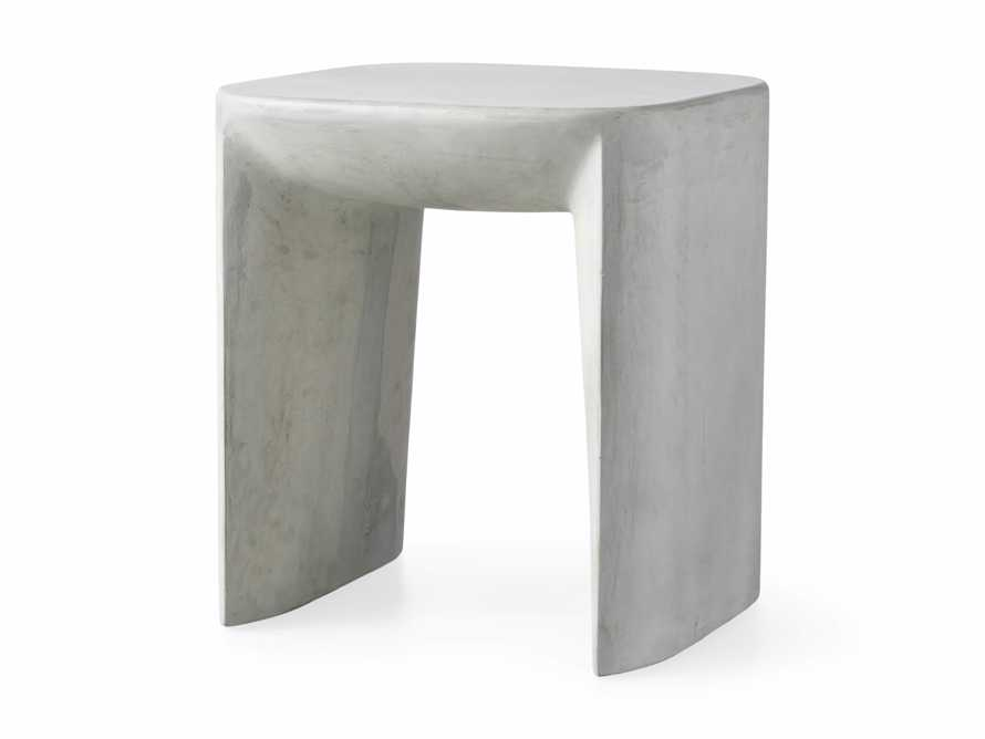 """Nueva Outdoor 18"""" Stone End Table, slide 4 of 7"""