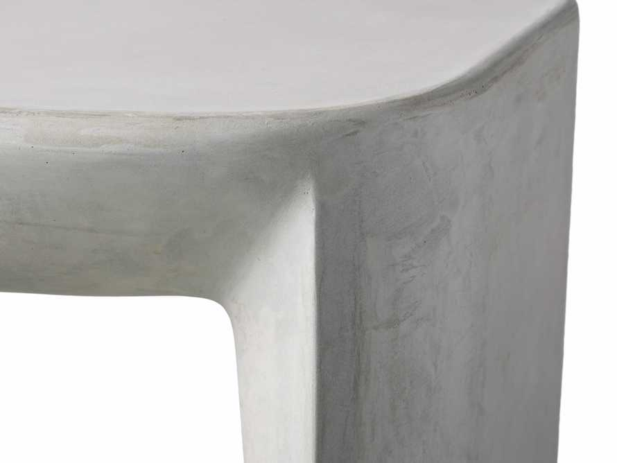 """Nueva Outdoor 18"""" Stone End Table, slide 5 of 7"""