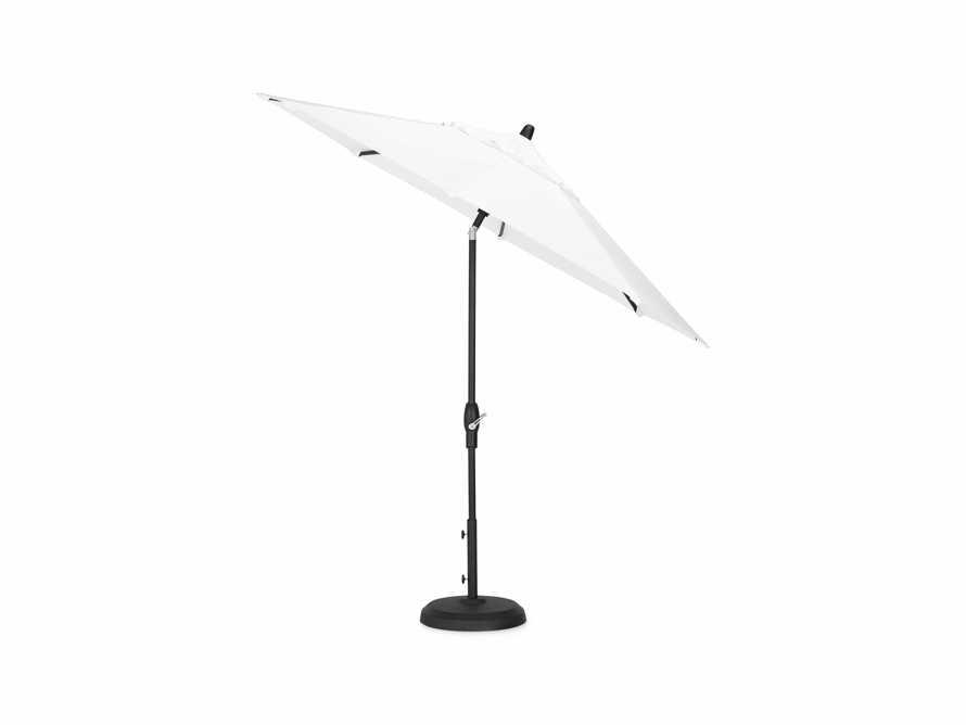 Outdoor 8' x 11' Octagon Umbrella in Canvas Natural, slide 3 of 7