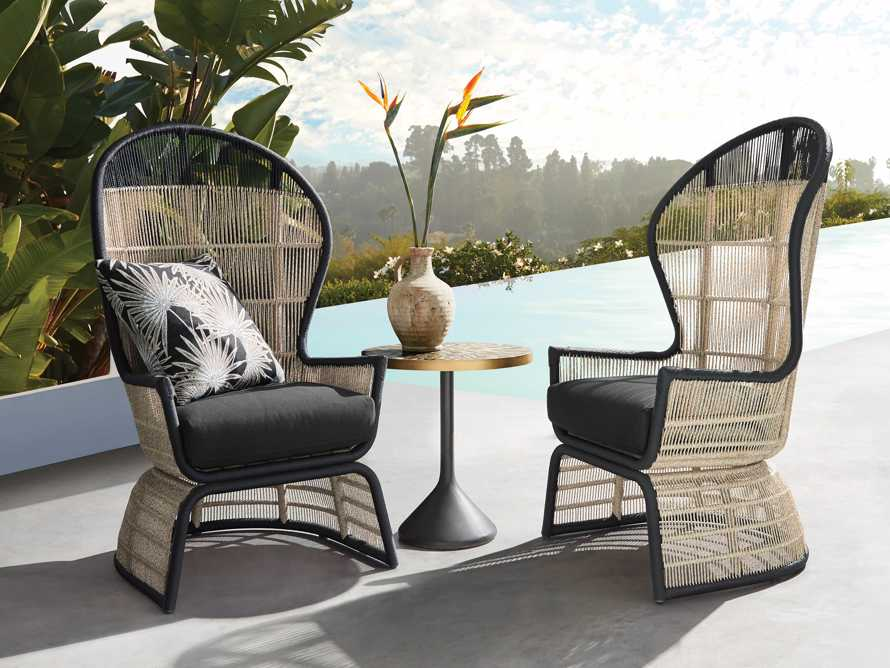 """Palms Outdoor 26.5"""" Lounge Chair, slide 1 of 8"""