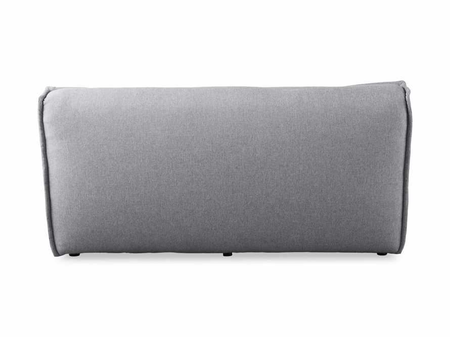 """Porto Outdoor Upholstered 60"""" Double Chaise in Southend Grey, slide 5 of 7"""