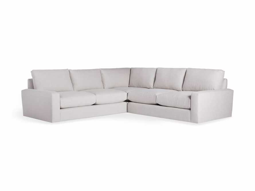 "Remington Outdoor 108"" Three Piece Corner Sectional, slide 3 of 3"