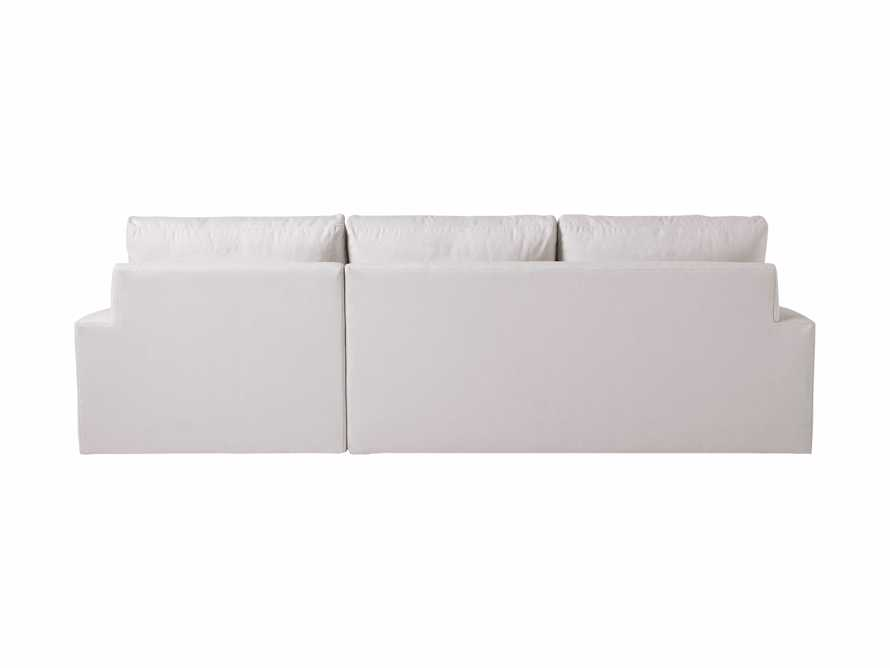 """Remington Outdoor 106"""" Right Arm Two Piece Sectional, slide 4 of 5"""