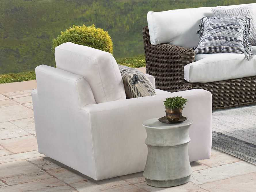 Remington Outdoor Swivel Chair, slide 2 of 4