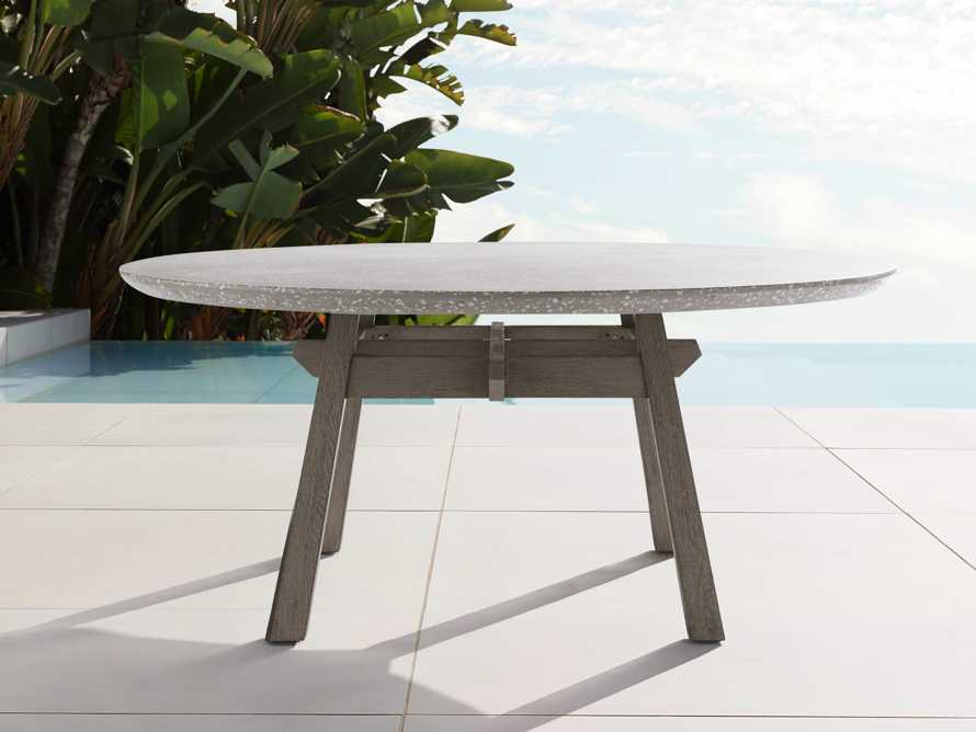 "Rumi Outdoor 70"" Round Dining Table, slide 1 of 5"