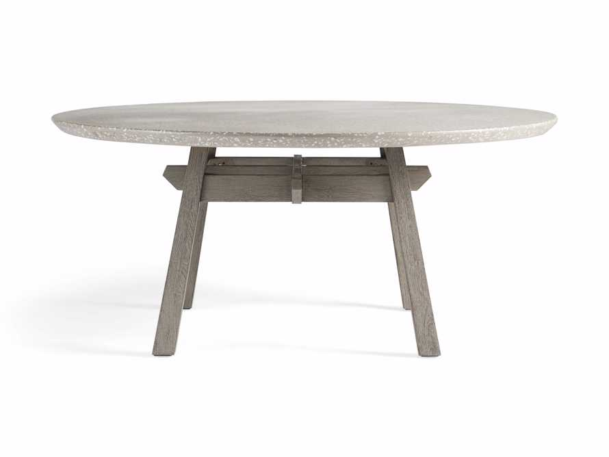 "Rumi Outdoor 70"" Round Dining Table, slide 2 of 5"