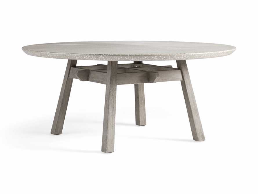 "Rumi Outdoor 70"" Round Dining Table, slide 3 of 5"