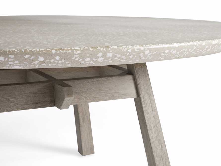 "Rumi Outdoor 70"" Round Dining Table, slide 4 of 5"