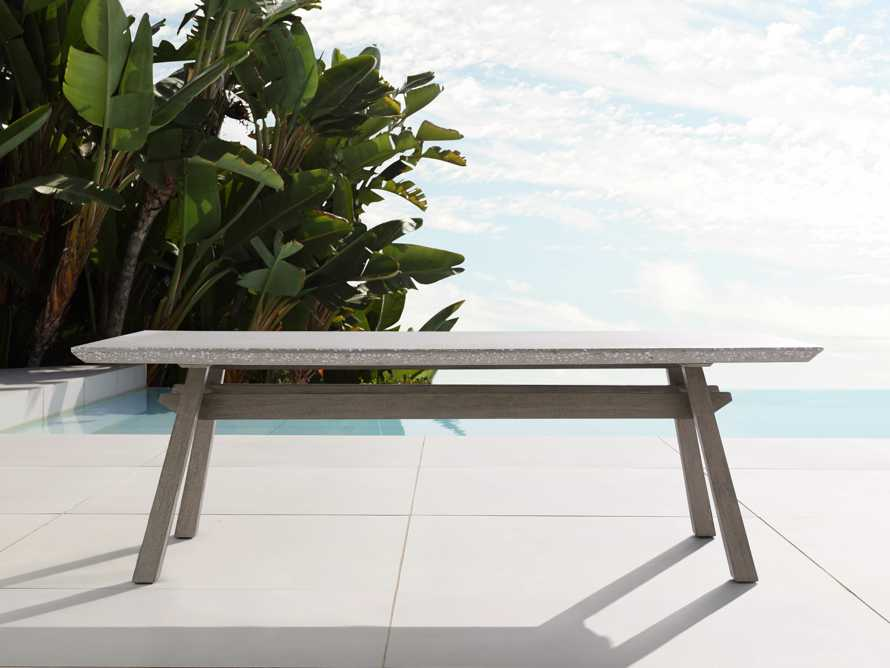 """Rumi Outdoor 78"""" Rectangle Dining Table, slide 2 of 6"""