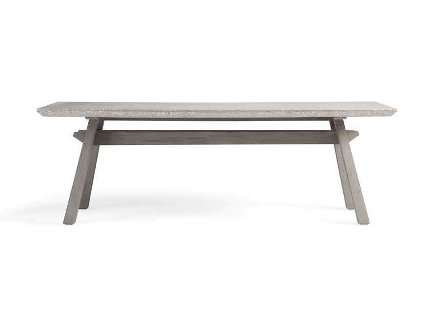 """Rumi Outdoor 78"""" Rectangle Dining Table, slide 3 of 6"""