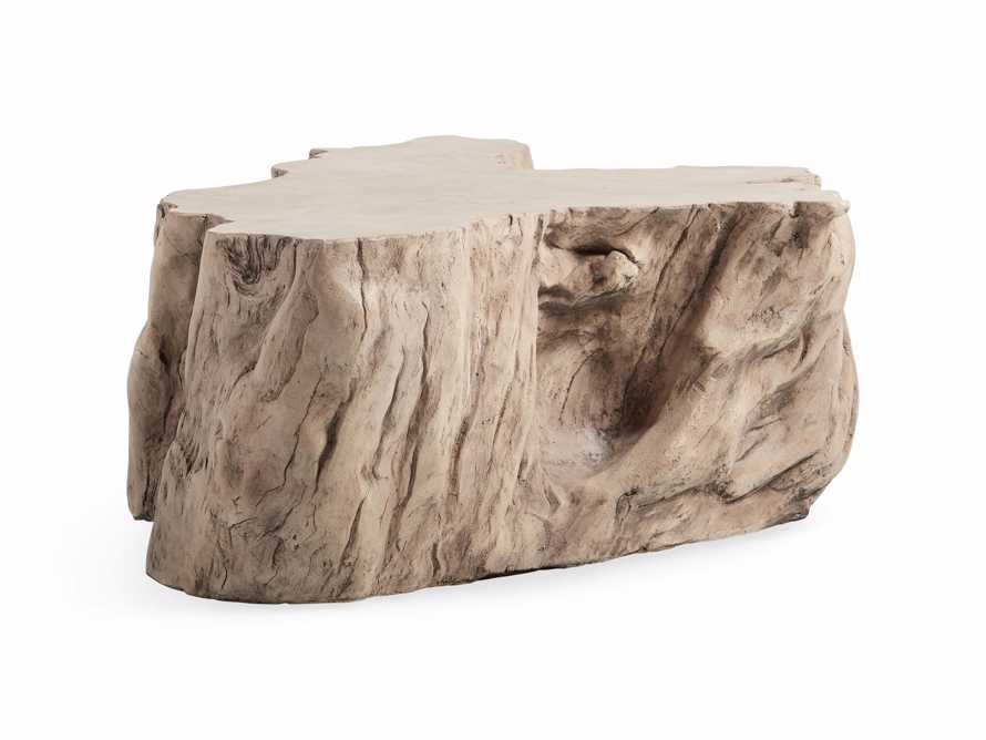 """Root Outdoor 52.5"""" Bleached Coffee Table, slide 6 of 7"""