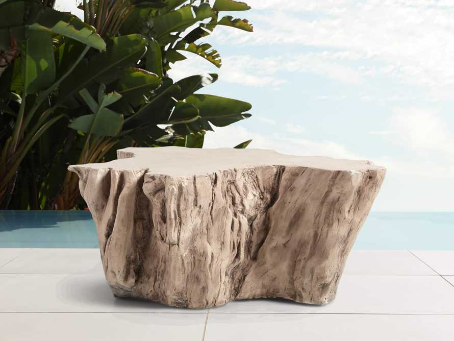 """Root Outdoor 52.5"""" Bleached Coffee Table, slide 1 of 7"""