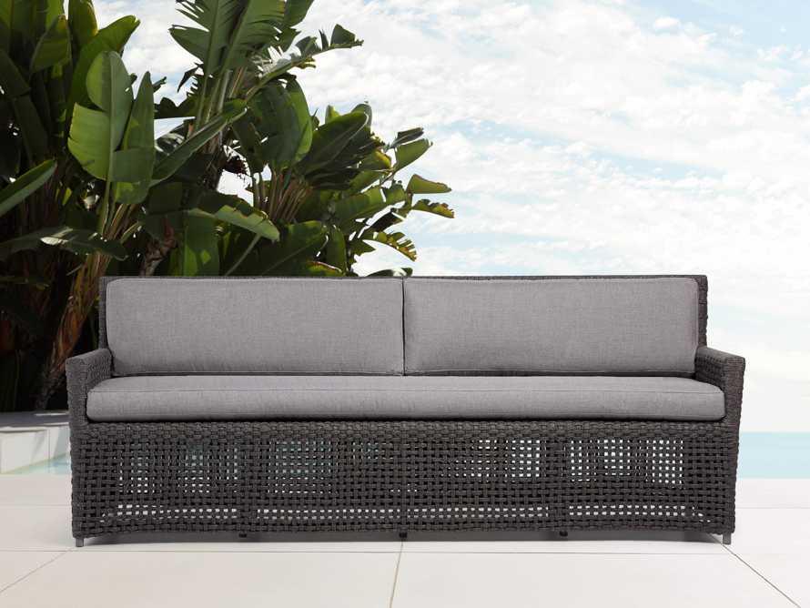 """Schoonover Outdoor 83"""" Sofa, slide 1 of 9"""