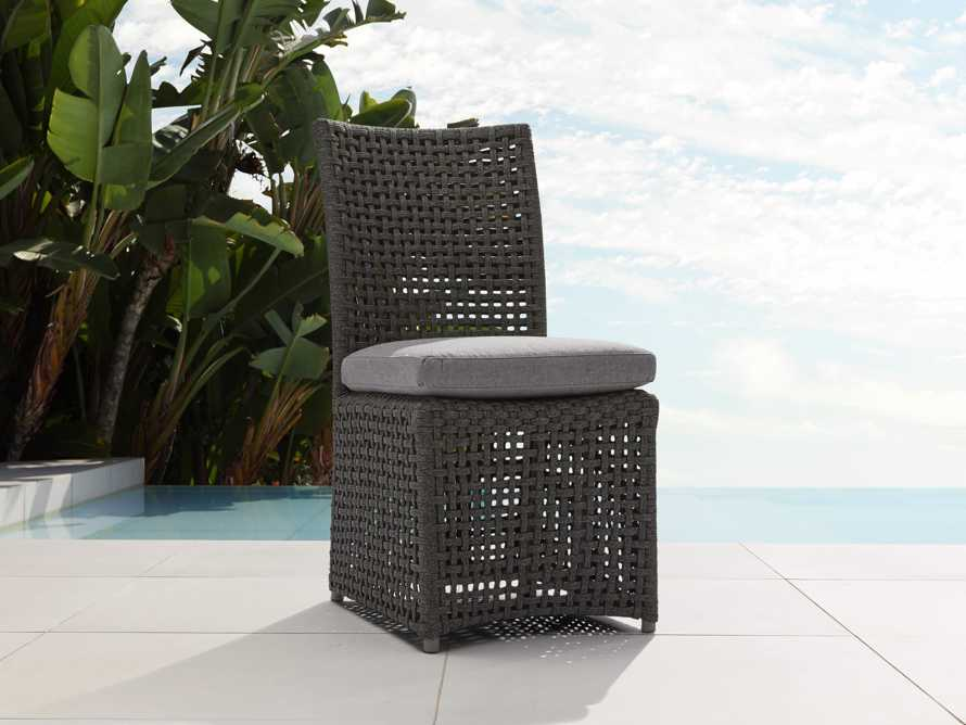 "Schoonover Outdoor 18"" Dining Side Chair in Slate"