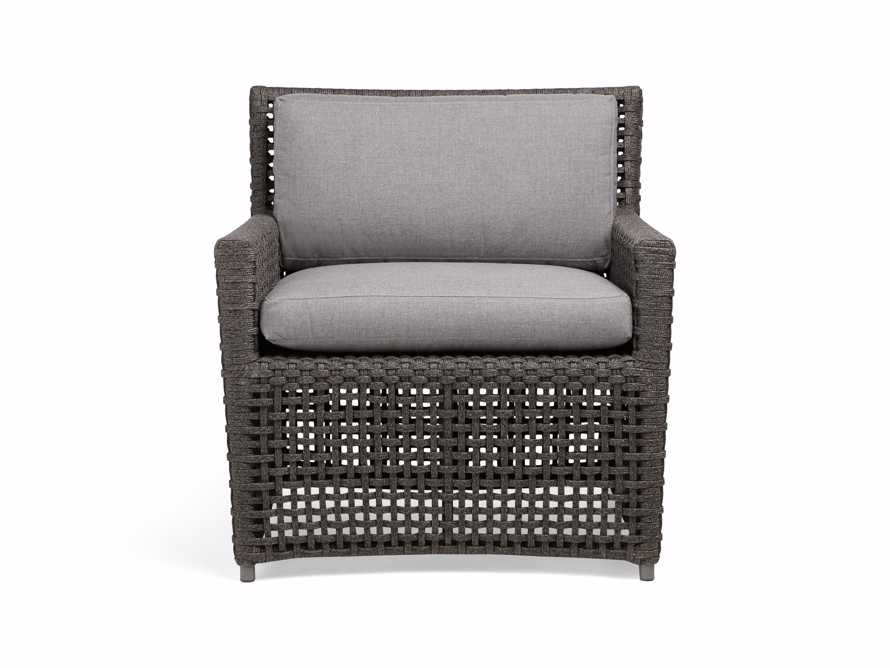 "Schoonover Outdoor 31"" Lounge Chair in Grey, slide 2 of 9"