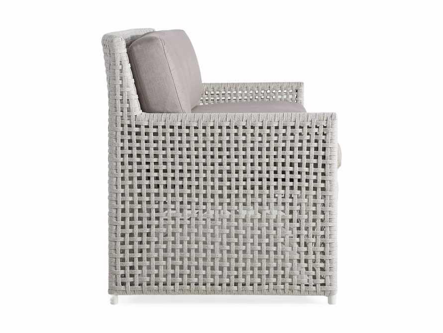 "Schoonover Outdoor 83"" Sofa in White, slide 3 of 5"