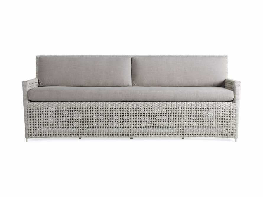 "Schoonover Outdoor 83"" Sofa in White, slide 2 of 5"