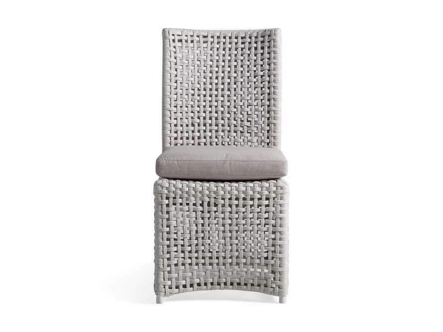 Schoonover Outdoor Dining Side Chair in White, slide 2 of 5