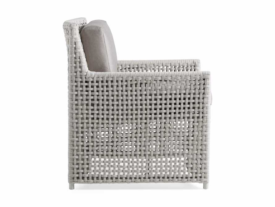 """Schoonover Outdoor 31"""" Lounge Chair in White, slide 3 of 6"""