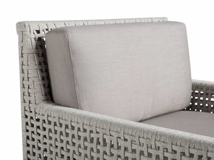 """Schoonover Outdoor 31"""" Lounge Chair in White, slide 5 of 6"""