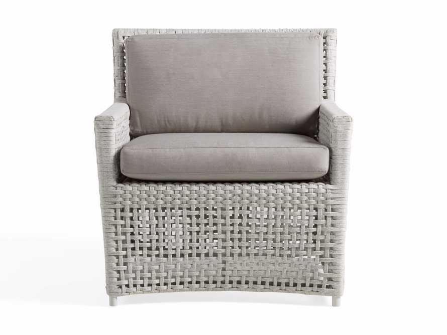 """Schoonover Outdoor 31"""" Lounge Chair in White, slide 2 of 6"""