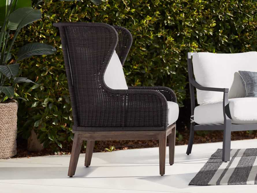 Sofia Outdoor Lounge Chair Arhaus