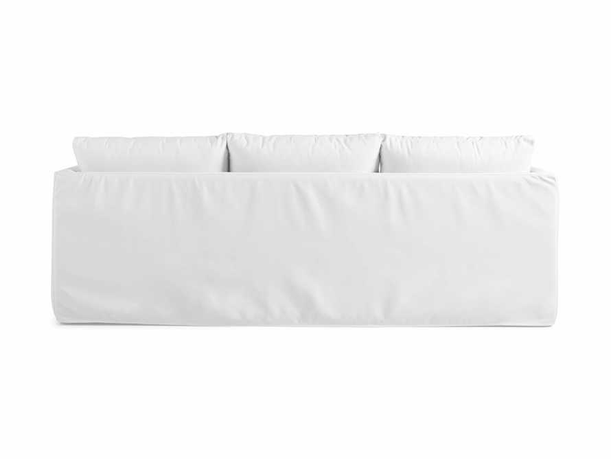 "Spinnaker Outdoor Slipcovered 94"" Sofa in Sail Salt, slide 4 of 4"