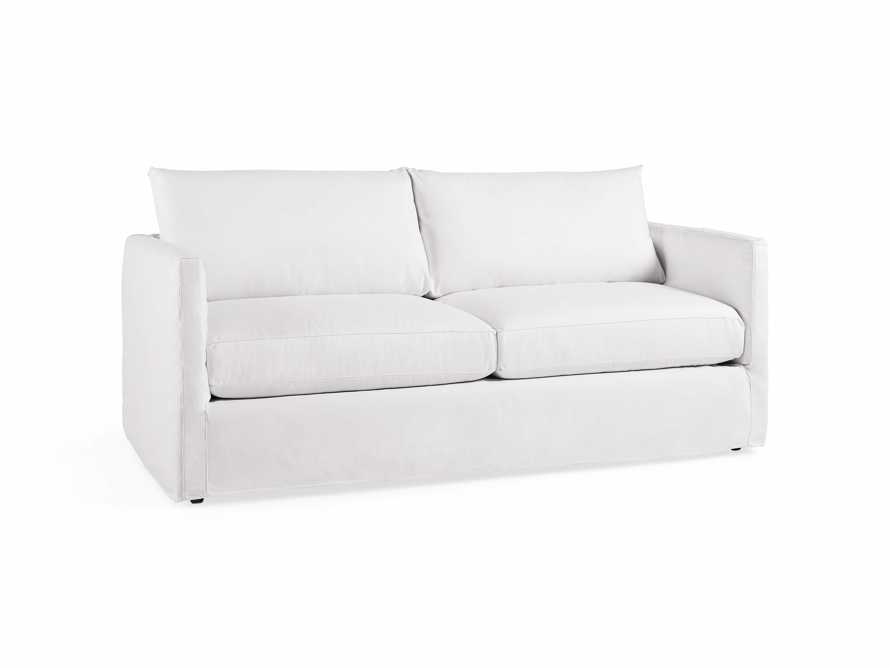 "Spinnaker Outdoor Slipcovered 80"" Sofa"