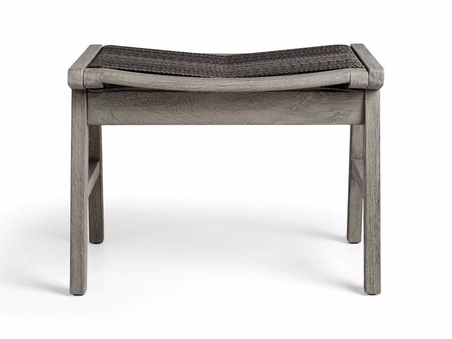 """Tulum 24"""" Dining Stool in Driftwood Grey/Charcoal, slide 2 of 6"""