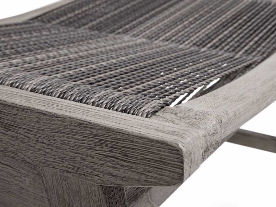 """Tulum 24"""" Dining Stool in Driftwood Grey/Charcoal, slide 6 of 6"""