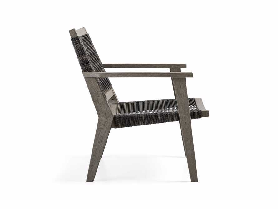 """Tulum 31"""" Lounge Chair in Driftwood Grey/Charcoal, slide 4 of 8"""
