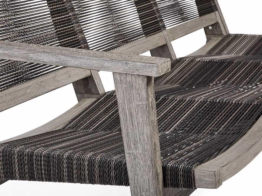 "Tulum 72"" Sofa in Driftwood Grey/Charcoal, slide 7 of 8"