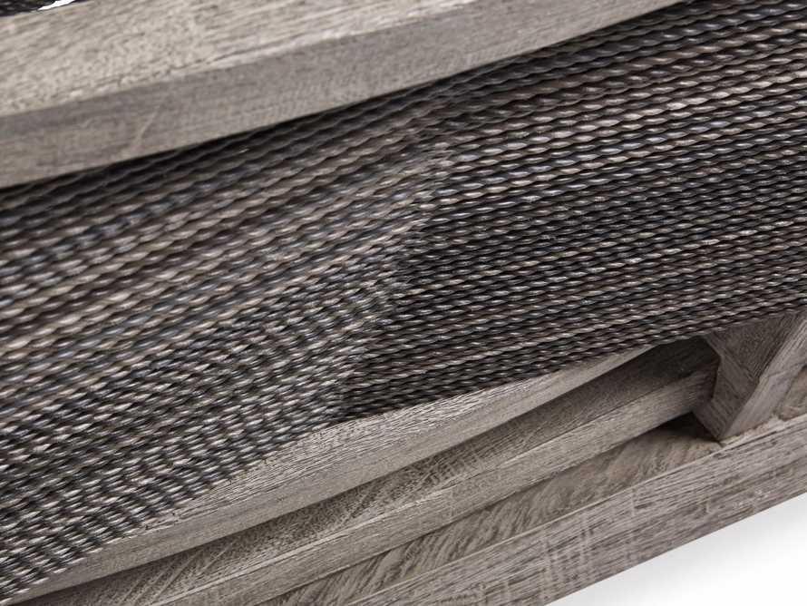 "Tulum 72"" Sofa in Driftwood Grey/Charcoal, slide 8 of 8"