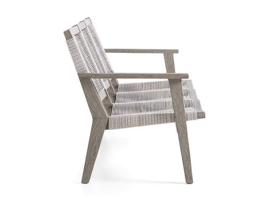 """Tulum Outdoor 73"""" Sofa in White, slide 4 of 8"""