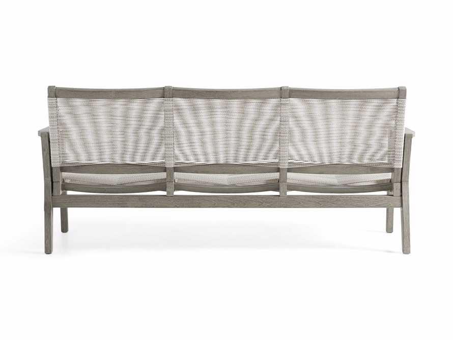 """Tulum Outdoor 73"""" Sofa in White, slide 5 of 8"""
