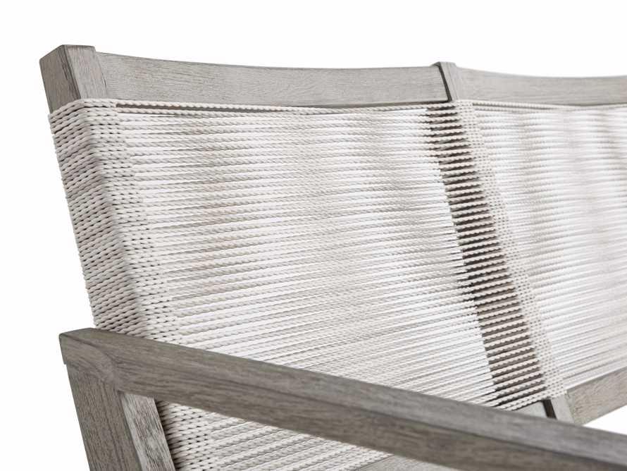 """Tulum Outdoor 73"""" Sofa in White, slide 6 of 8"""