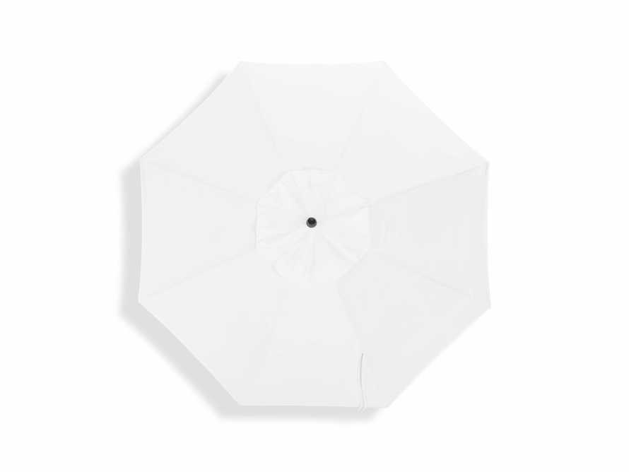Umbrellas Outdoor 8' x 11' Octagon Umbrella in Canvas Natural
