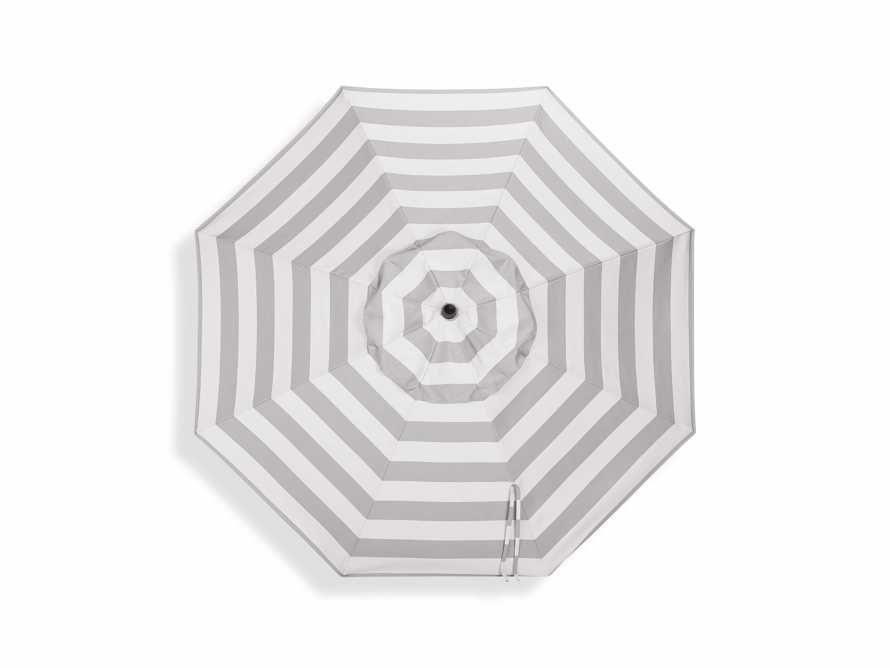 Umbrellas Outdoor 9' x 10' Octagon Umbrella in Solana Seagull, slide 4 of 4