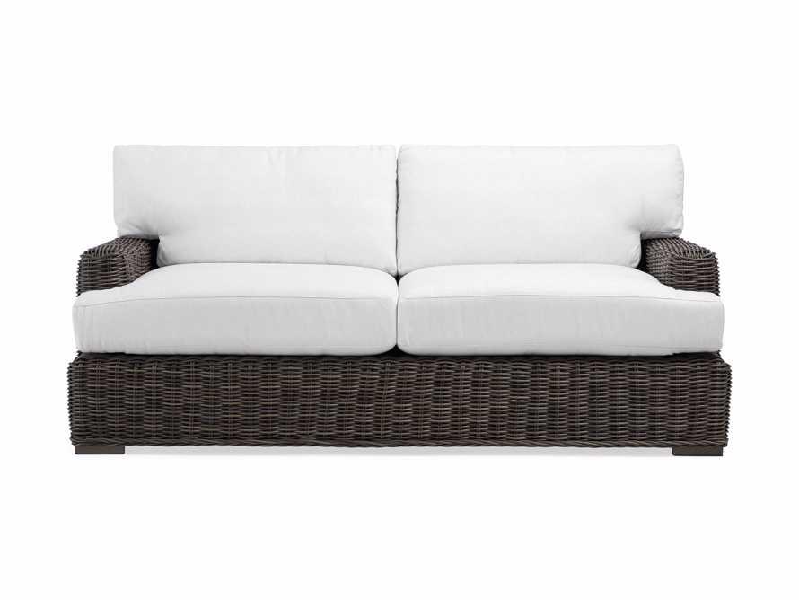 "Wyatt Outdoor 76"" Sofa in Dry Bark, slide 2 of 2"