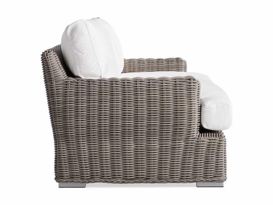 """Wyatt Outdoor 76"""" Sofa in Weathered Grey, slide 3 of 4"""