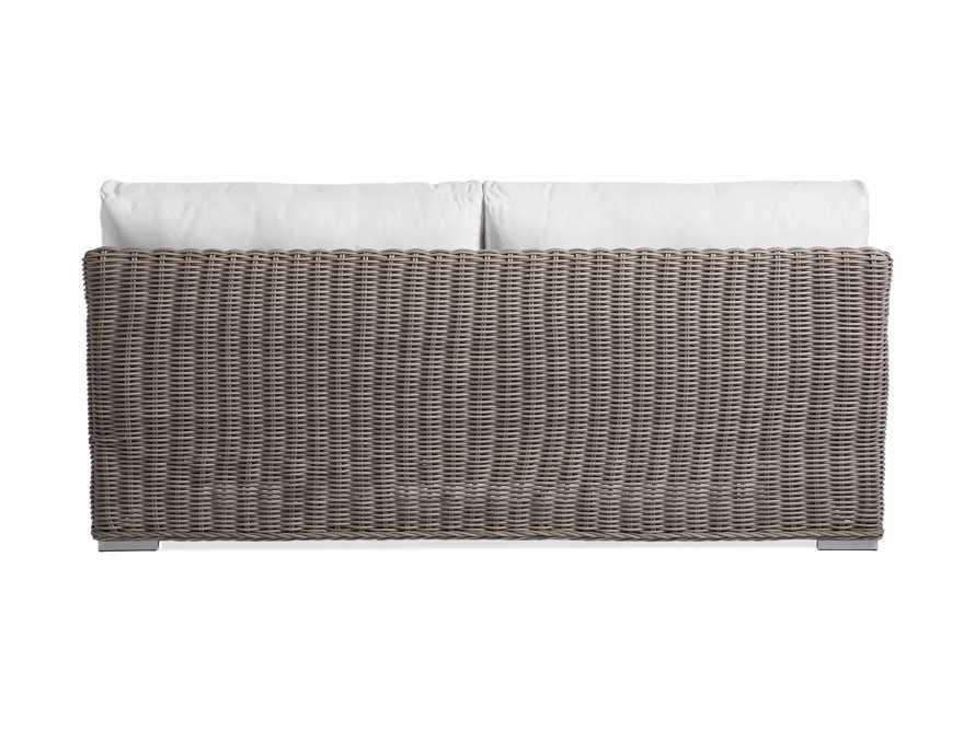 """Wyatt Outdoor 76"""" Sofa in Weathered Grey, slide 4 of 4"""